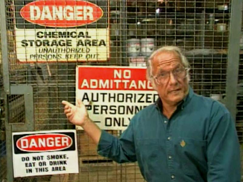 chemical safety training video