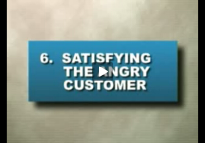 telephone skills angry customer