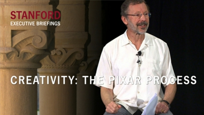 Creativity: The Pixar Process
