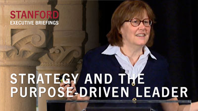 Strategy and the Purpose-Driven Leader