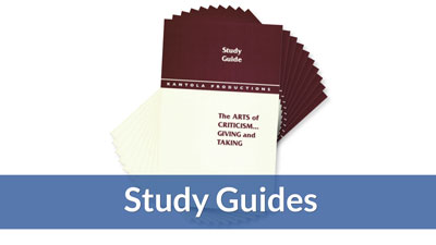Criticism: Giving and Taking Study Guide (10-pack)
