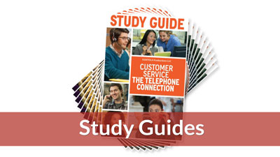 Customer Service: The Telephone Connection Study Guide (10-pack)