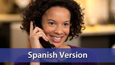 Customer Service: The Telephone Connection - Spanish DVD