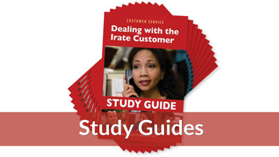 Dealing with the Irate Customer Study Guide (10-pack)