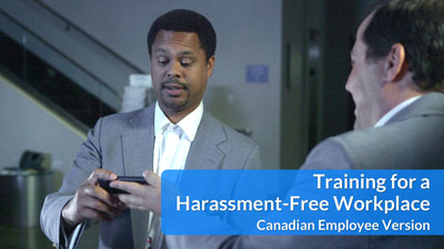 Training for a Harassment-Free Workplace — Canadian Employee DVD