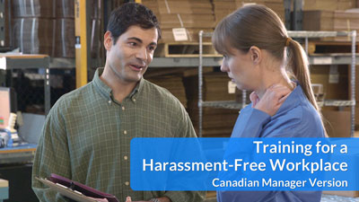 Training for a Harassment-Free Workplace — Canadian Manager DVD