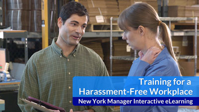 Training for a Harassment-Free Workplace eLearning — New York Managers