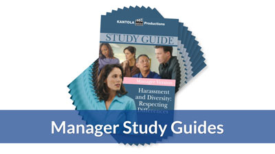 Harassment & Diversity Manager Version Study Guide (10-pack)
