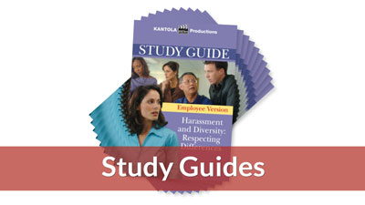 Harassment & Diversity Employee Version Study Guide (10-pack)