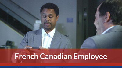 Training for a Harassment-Free Workplace — Canadian Employee Version (French)