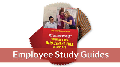 Training for a Harassment-Free Workplace — Employee Study Guide (10-pack)