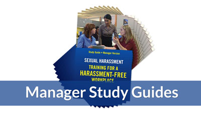 Training for a Harassment-Free Workplace — Manager Study Guide (10-pack)