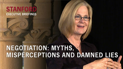 Negotiation: Myths, Misperceptions and Damned Lies
