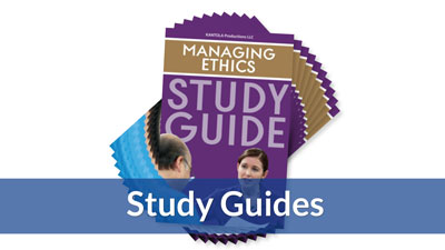 Managing Ethics Study Guide (10-pack)