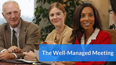The Well-Managed Meeting