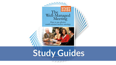 The Well-Managed Meeting Study Guide (10-Pack)