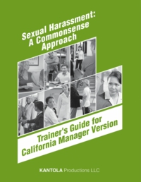 Trainer's Guide for California Manager Version