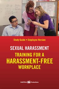 Workplace sexual harassment video training